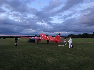 Shuttleworth July Evening Airshow DH 88 Comet | by lotus-gt