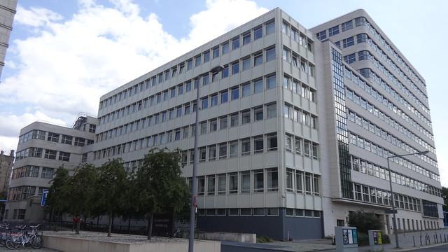 1965/67 Berlin-W. BEWAG-Erweiterungsbau von Paul Gotthilf Reinhold Baumgarten Stauffenbergstraße in 10557 Tiergarten