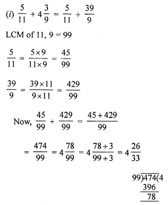 ML Aggarwal Class 8 Solutions for ICSE Maths Chapter 1 Rational Numbers Ex 1.1 Q2.1