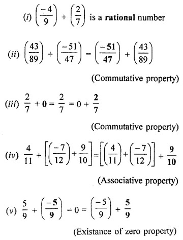 ML Aggarwal Class 8 Solutions for ICSE Maths Chapter 1 Rational Numbers Ex 1.1 Q7.1