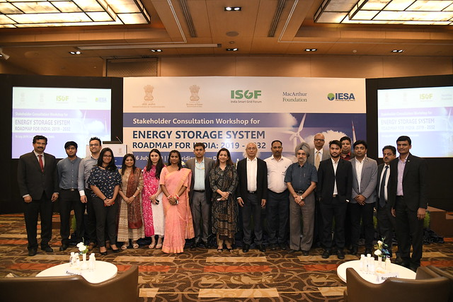 Stakeholder Consultation Workshop for presenting the Energy Storage Roadmap of India