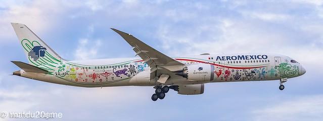Boeing 787-9 Dreamliner / Aeromexico (Quetzalcoatl)