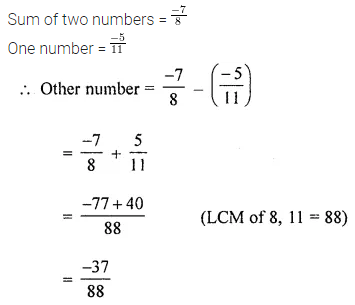 ICSE Class 8 Maths Book Solutions Free Download Pdf Chapter 1 Rational Numbers Ex 1.2 Q3