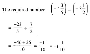 Maths Questions for Class 8 ICSE With Answers Chapter 1 Rational Numbers Ex 1.2 Q4