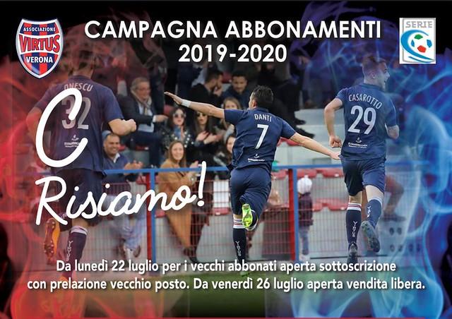CAMPAGNA ABBONAMENTI 2019-2020 - PROROGA
