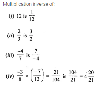 ICSE Understanding Mathematics Class 8 Solutions Chapter 1 Rational Numbers Ex 1.3 Q4.1