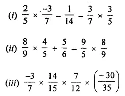 ICSE Class 8 Maths Book Solutions Free Download Pdf Chapter 1 Rational Numbers Ex 1.3 Q5