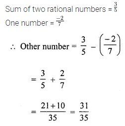 ICSE Understanding Mathematics Class 8 Solutions Chapter 1 Rational Numbers Ex 1.2 Q2