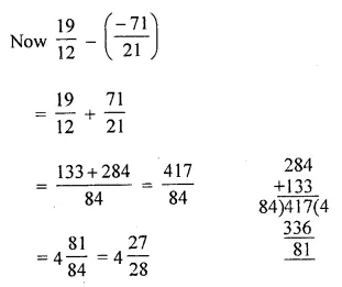 ML Aggarwal Maths for Class 8 Solutions Book Pdf Chapter 1 Rational Numbers Ex 1.2 Q5.1