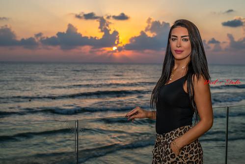 lebanon beirut model portrait beauty beautifull d850 nikon close face faces woman women girls brunette dusk dawn sunset sunrise