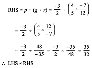 ML Aggarwal Maths for Class 8 Solutions Book Pdf Chapter 1 Rational Numbers Ex 1.4 Q8.1