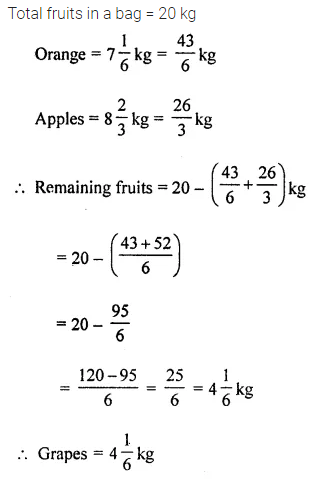 Maths Questions for Class 8 ICSE With Answers Chapter 1 Rational Numbers Ex 1.6 Q1