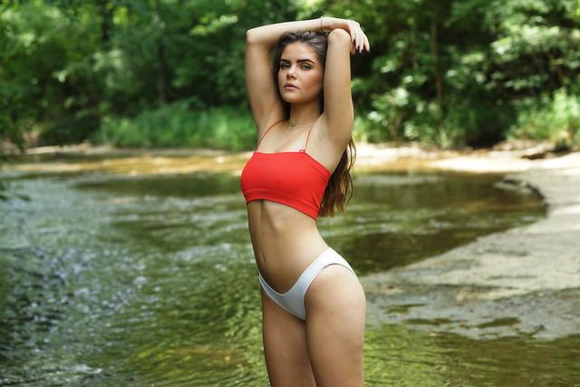 Red bikini 'Paige'