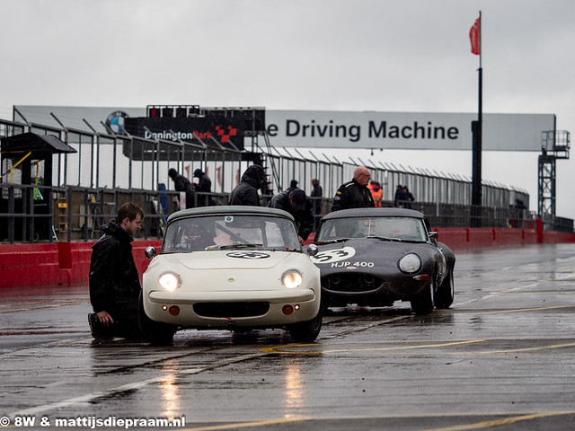 2019 Donington Park Masters Race Weekend: Lotus Elan & Jaguar E-type
