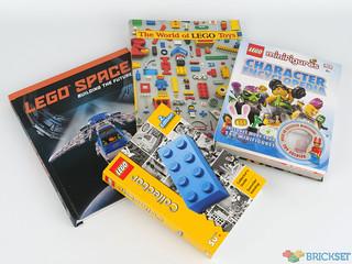 I like LEGO books and I cannot lie