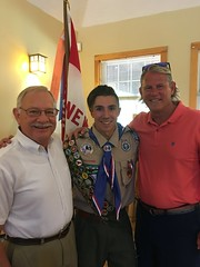 It was my pleasure to join Senator Witkos in presenting a CT General Assembly congratulatory citation to Troop 19's newest Eagle Scout, Hunter Kennerson.