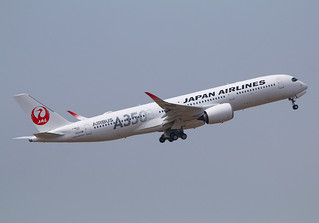 F-WZFX Airbus A350 Japan Airlines s/n 333