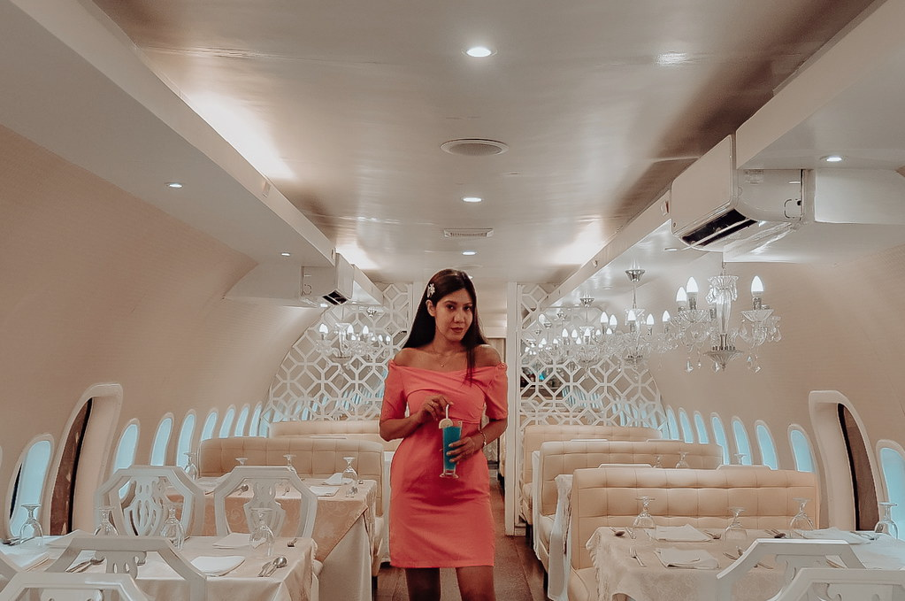 Inside the Airplane Restaurant: Air Summit Gourmet