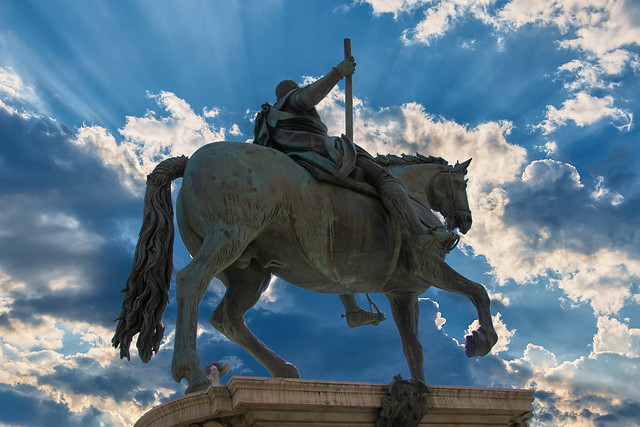 Statua equestre di Cosimo I de' Medici