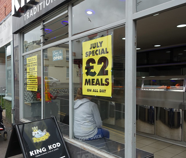 Great deal at the King Kod chippy on Plungington Road