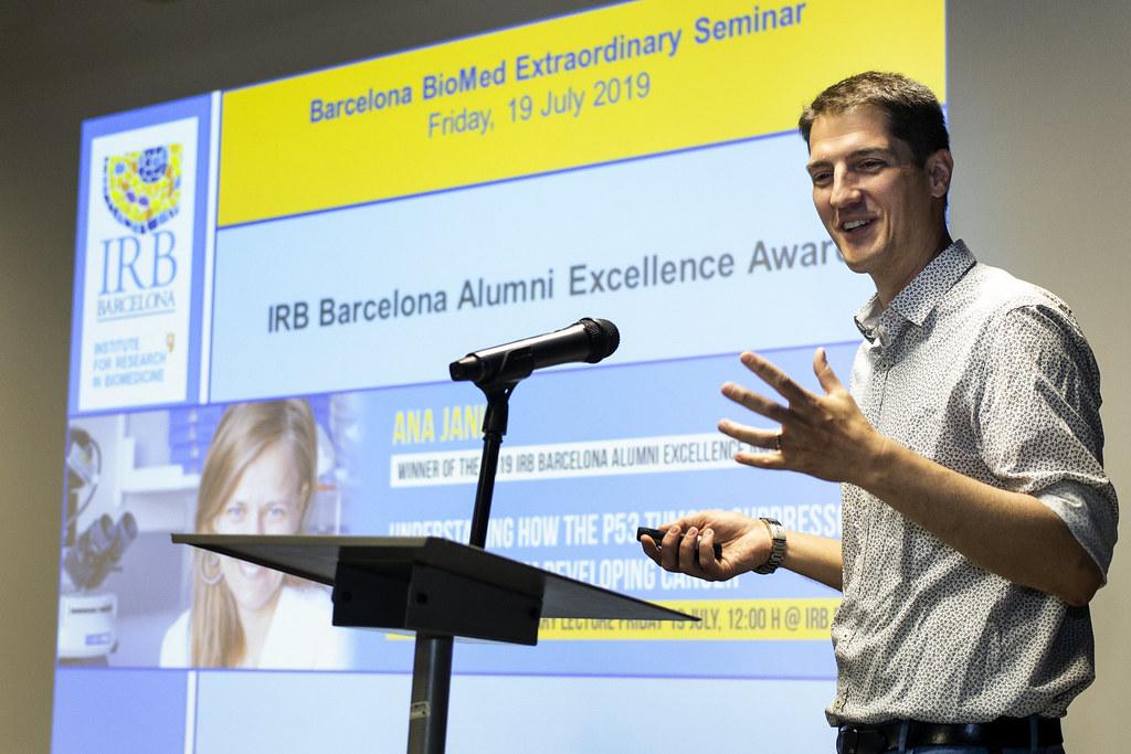 4th IRB Alumni Excellence Award - Ana Janic