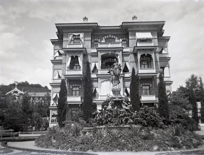 1897. Гурзуф. Гурзуфский парк