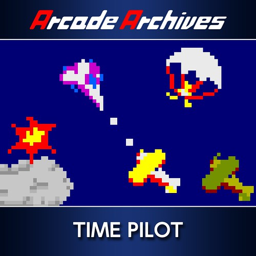 Thumbnail of Arcade Archives TIME PILOT on PS4