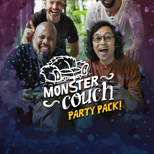 Thumbnail of The Monster Couch Party Pack on PS4
