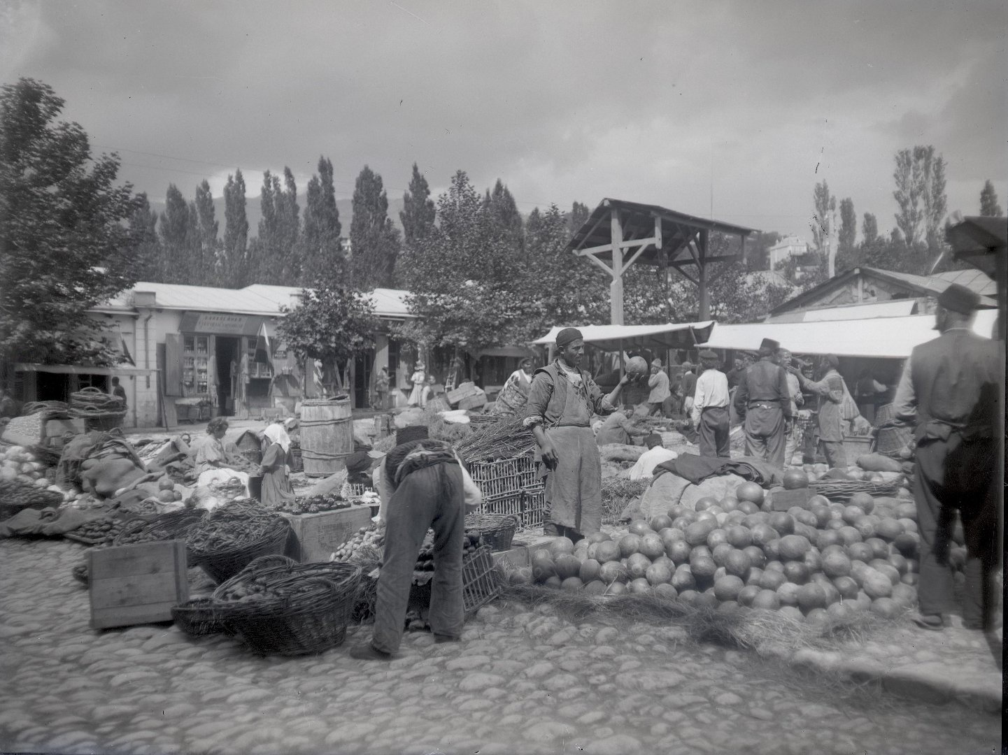 1897. Ялта. Базар