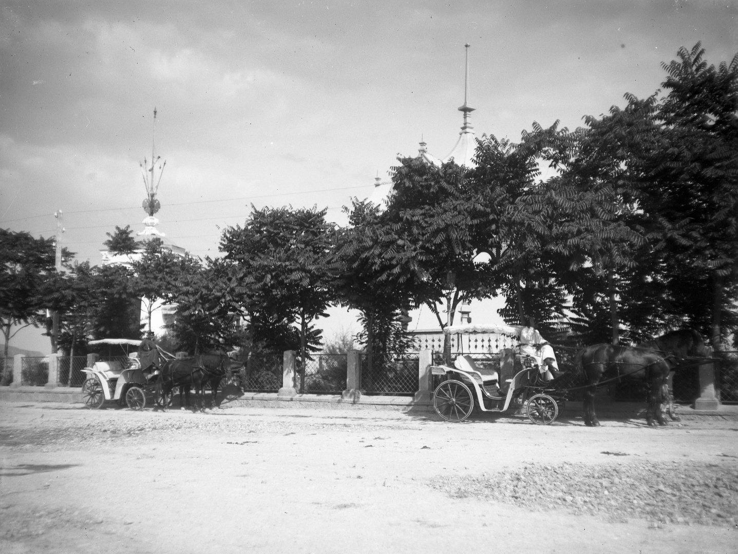 1897. Ялта. Александровский сквер