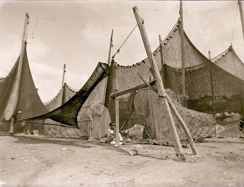 1897. Севастополь. Рыбацкие сети
