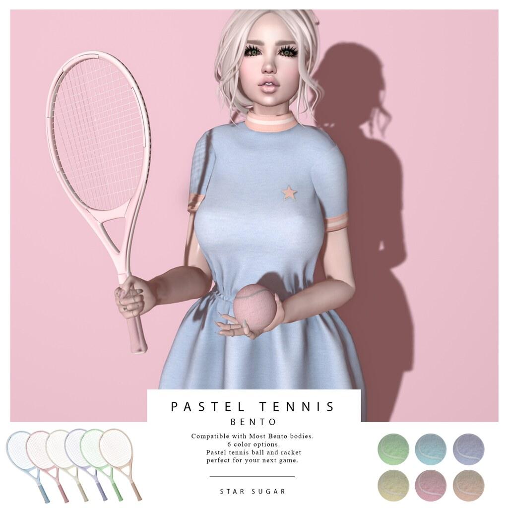 Pastel Tennis