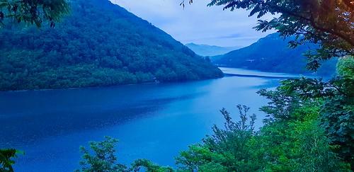 landscape water lake nature mountain tree bosnia travel balkan
