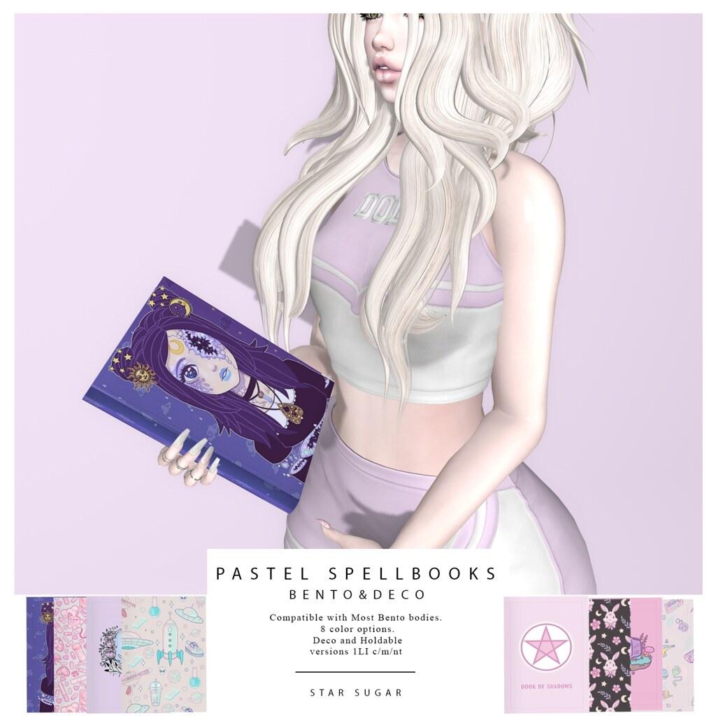 Pastel Spellbooks