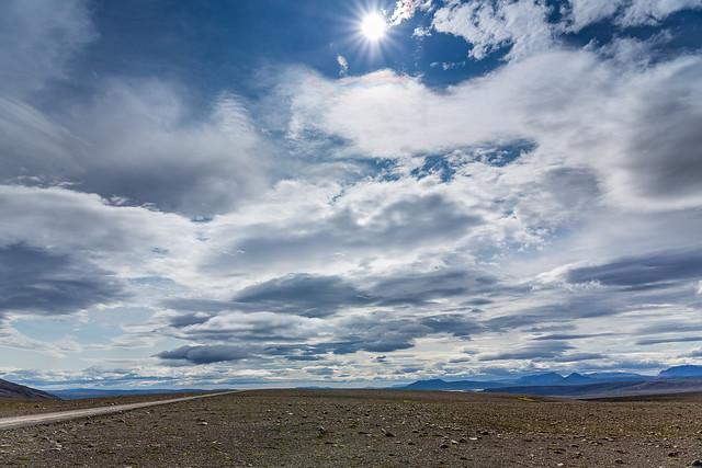 Clouds on Kjalvegur
