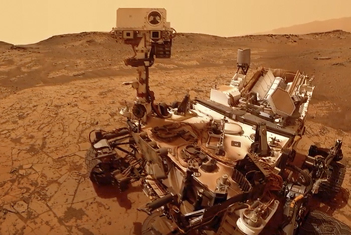 Did life sign the guestbook on Mars?