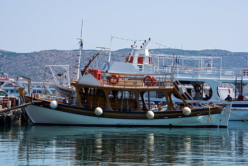 The port of Elounda