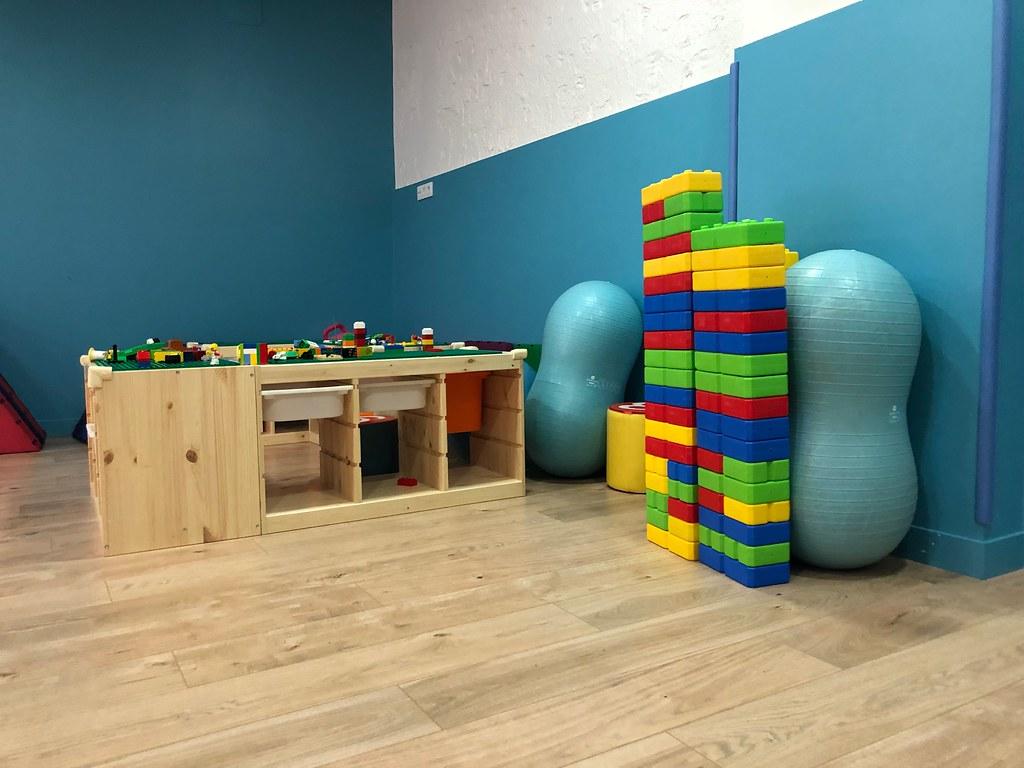 Legos grandes y pequeños