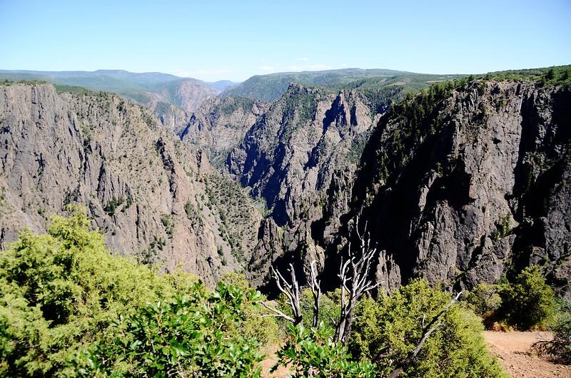 Black Canyon, taken from Tomichi Point (1)