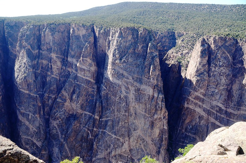 Black Canyon, taken from Painted Wall View (2)