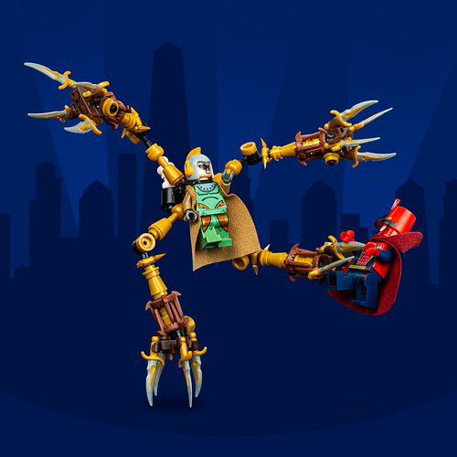 Mech Monday #29: Doc Cog (Steampunk Spiderman)