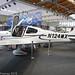 N124MX - 2019 build Cirrus SR20, exhibited at Friedrichshafen during Aero 2019
