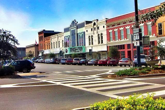 Talladega  Alabama - Historic Main Street - Ritz Theatre