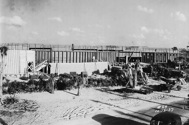 Construction of Marine Studios/Marineland of Florida