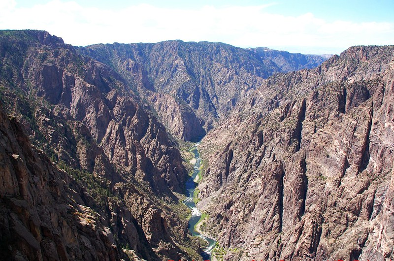 Black Canyon, taken from Dragon Point 2