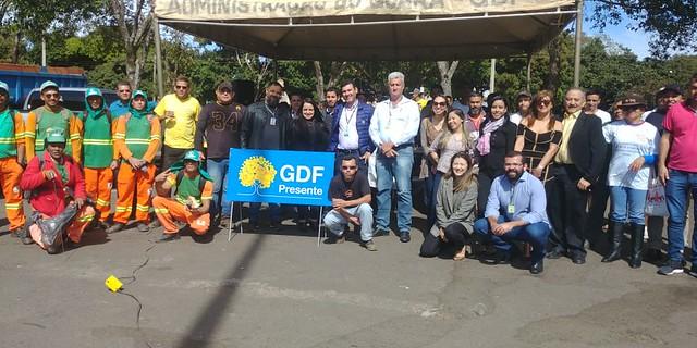 GDF Presente é lançado no Guará