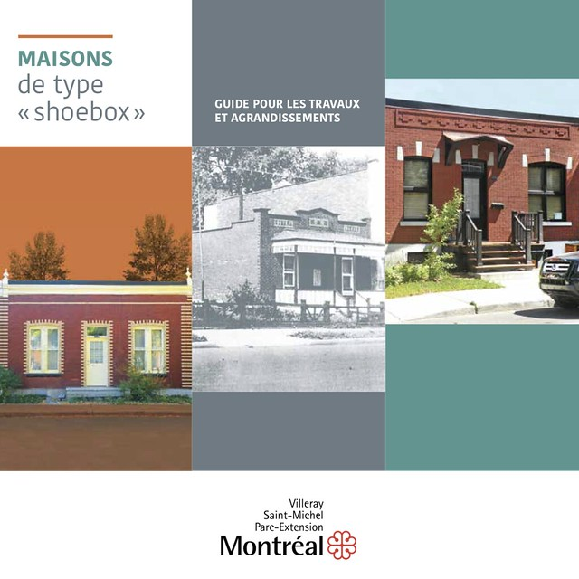 Page 1 du Guide pour les travaux et agrandissements des maisons de type « shoebox » à Villeray–Saint-Michel–Parc-Extension