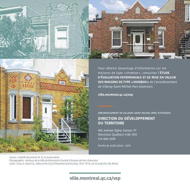 Page 6 du Guide pour les travaux et agrandissements des maisons de type « shoebox » à Villeray–Saint-Michel–Parc-Extension