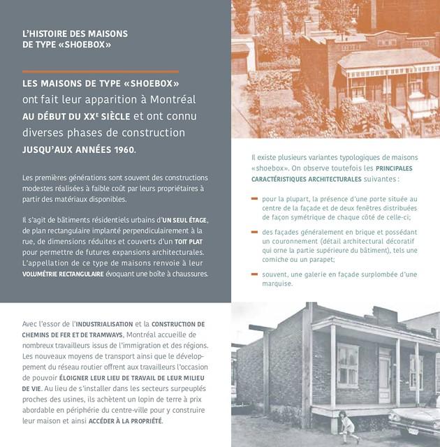 Page 3 du Guide pour les travaux et agrandissements des maisons de type « shoebox » à Villeray–Saint-Michel–Parc-Extension
