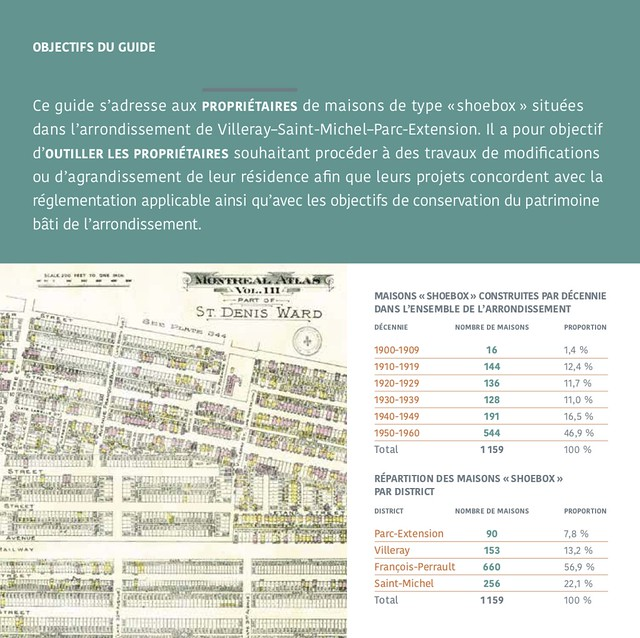 Page 2 du Guide pour les travaux et agrandissements des maisons de type « shoebox » à Villeray–Saint-Michel–Parc-Extension